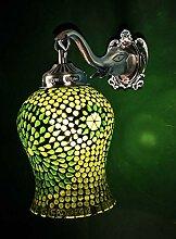 Tiffany Lampe Glas Dekorative Küche Wandleuchte