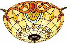 Tiffany-Lampe Schlafzimmer 65CM Kreative Buntglas