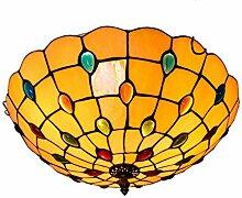 Tiffany-Lampe Schlafzimmer Kreative Bunte Perlen
