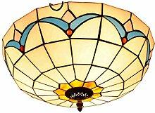Tiffany-Lampe Schlafzimmer Kreative mediterrane
