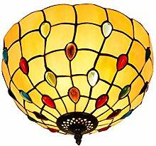 Tiffany-Lampe Schlafzimmer Tiffany ländlichen