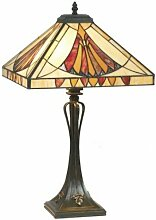 Tiffany Lampe, Tiffanylampe, Tiffany Tischlampe,