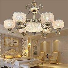 Tiffany-Lampen Europäische Retro-Wohnzimmer