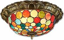 Tiffany-Lampen LED-Deckenleuchte Klassische