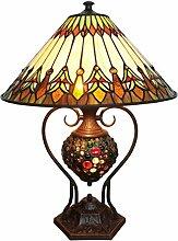 Tiffany Leuchte Barock Lampe Jugendstil Grande 65cm