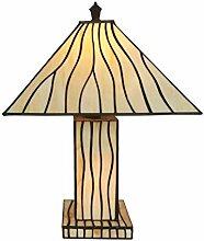 Tiffany Leuchte Jugendstil Lampe Cube 46cm