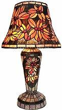 Tiffany Leuchte Jugendstil Lampe Flora Grande 61cm
