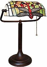 Tiffany Leuchte Jugendstil Lampe Libelle Bauler
