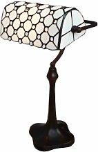 Tiffany Leuchte Jugendstil Lampe Perlmutt Bauler
