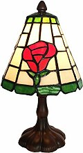 Tiffany Leuchte Jugendstil Lampe Rose 24cm