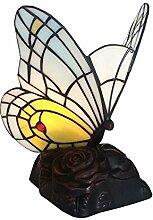 Tiffany Leuchte Jugendstil Lampe Schmetterling