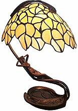 Tiffany Leuchte Jugendstil Lampe Sonnenanbeterin