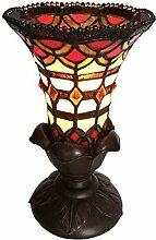 Tiffany Leuchte Lampe Jugendstil Barock Kelch 27cm