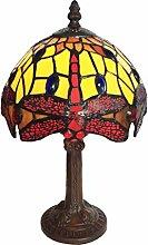 Tiffany Leuchte Lampe Jugendstil Libelle 36cm