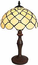 Tiffany Leuchte Lampe Jugendstil Perlmutt 46cm