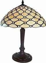 Tiffany Leuchte Lampe Jugendstil Perlmutt Bogen