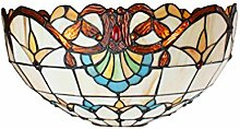 Tiffany Leuchte Lampe Jugendstil Rustica 30cm