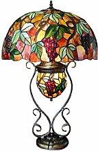 Tiffany Leuchte Lampe Jugendstil Traube 64cm
