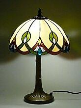 Tiffany-Leuchte Tiffany-Lampe Glas-Tischleuchte