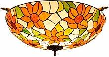 Tiffany Retro-Deckenleuchte 65CM kreative Sun