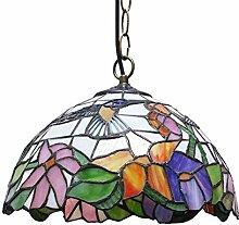 Tiffany Stil Glasmalerei Hängende Deckenleuchten