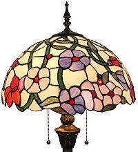 Tiffany Stil Hohe 64 Zoll Schöne Blumen Hirten