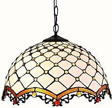 Tiffany Stil Kronleuchter LED Barock Runde