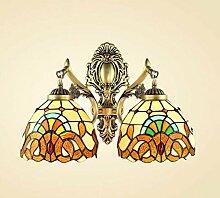 Tiffany Stil Wandleuchte Mediterrane Einfache