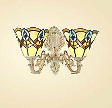 Tiffany Stil Wandleuchte Mediterranean Einfache