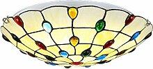 Tiffany Style Deckenleuchte Kreative Glasmalerei