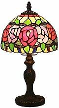 Tiffany Style Schlafzimmer Nachttisch Tischlampe,