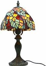 Tiffany Tischlampe - handgefertigte Glasmalerei