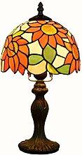Tiffany Tischlampe/Kunsthandwerk/Sonnenblumen