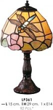 Tiffany Tischleuchte Durchmesser 15cm, Höhe 29cm