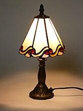 Tiffany-Tischleuchte Tiffany-Tischlampe Dora aus