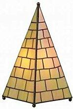 Tiffany-Tischleuchte Tiffany-Tischlampe Kiran aus