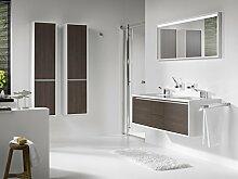 Tiger Cadero Badmöbel Set 150 cm Waschtischunterschrank Spiegelschrank