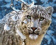 Tiger Diamant Malerei 5D DIY Voll Tier Bohren