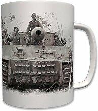 Tiger lV Panzer Foto Panzerkampfwagen Deutscher Panzer Wk2 - Tasse Becher Kaffee #6226