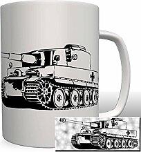 Tiger Panzer - Tasse Becher Kaffe #1944