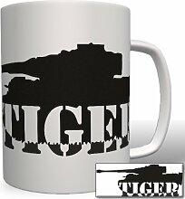 Tiger Panzer - Tasse Becher Kaffee #3925