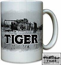 Tiger Panzer Wh Winter Schnee Deutschland Wk Panzerkampfwagen - Tasse Kaffee Becher #9531