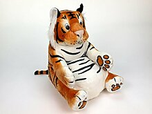 Tiger Plüsch Sessel Kinderzimmer Stuhl Kindermöbel Plüschtier