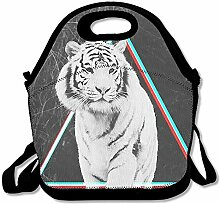 Tiger Unisex Lunch Box Food Bag Lunch Bag For