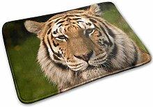 Tiger Willkommensmatte, Teppich für Haustür,