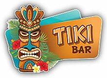 Tiki Bar Hawaii - Self-Adhesive Sticker Car Window
