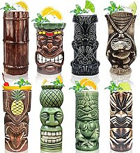 Tiki Becher Cocktail-Set von 7 – Becher,