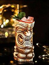 Tiki-Becher, Cocktailbecher, Keramik,