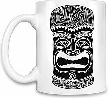 Tiki Kaffee Becher