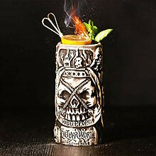 Tiki Mugs Cocktailbecher, Keramik, Tiki-Becher,
